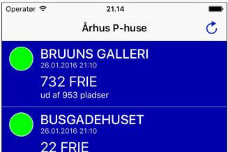 Århus P-huse