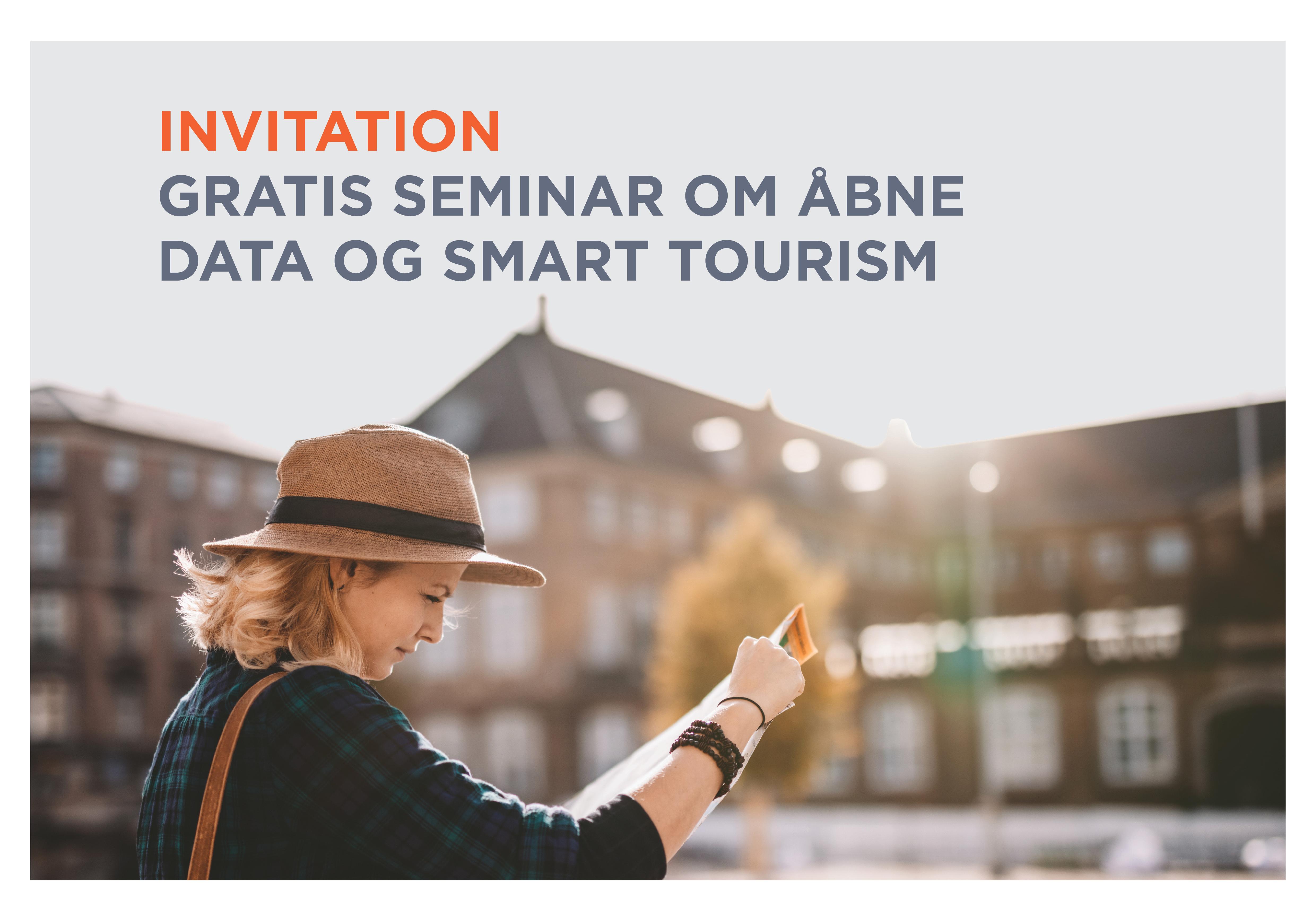 Seminar om åbne data og smart tourism