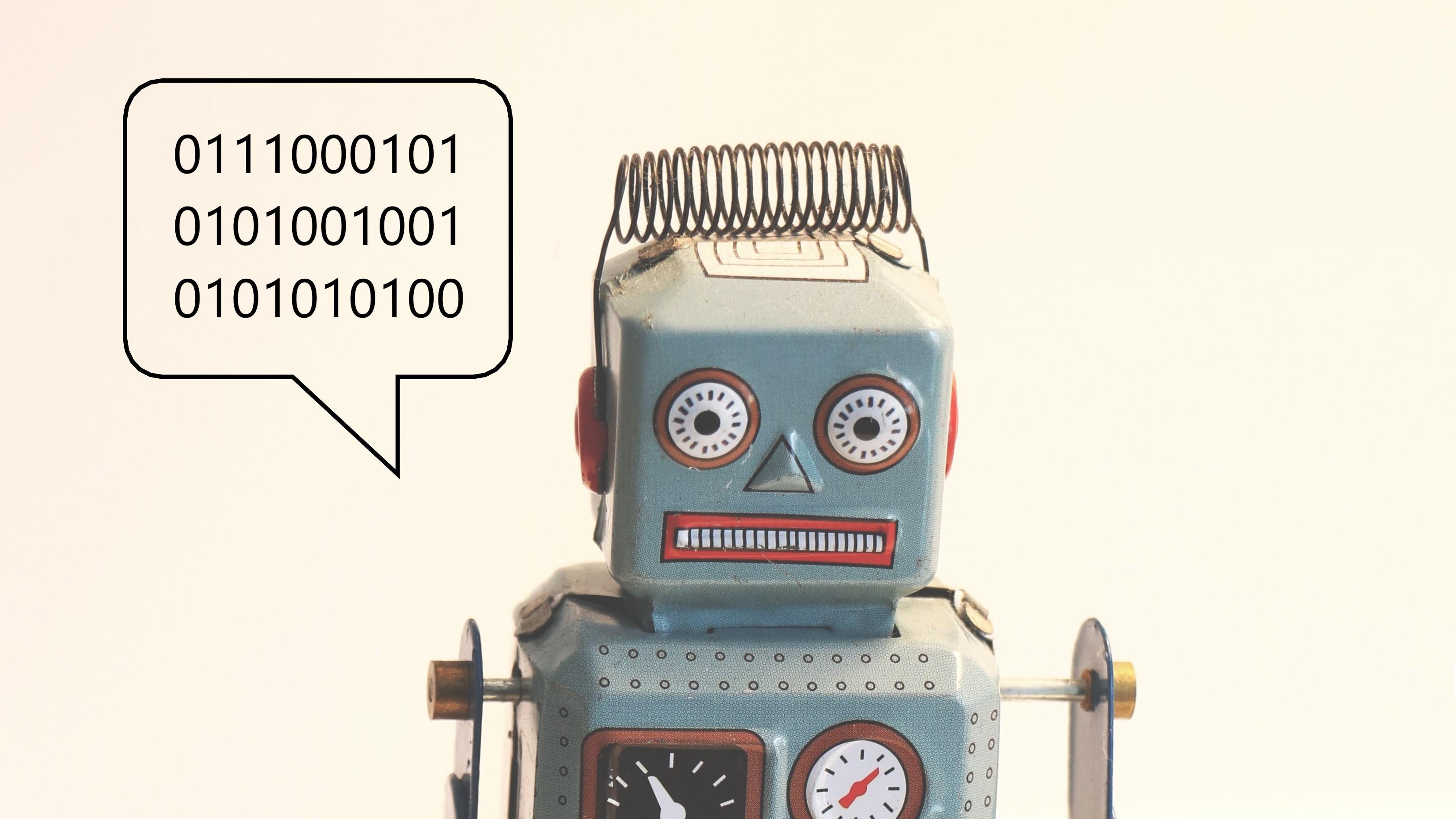 Billede af robot