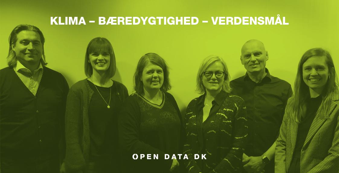 Billede af Open Data DK bestyrelse og sekretariat
