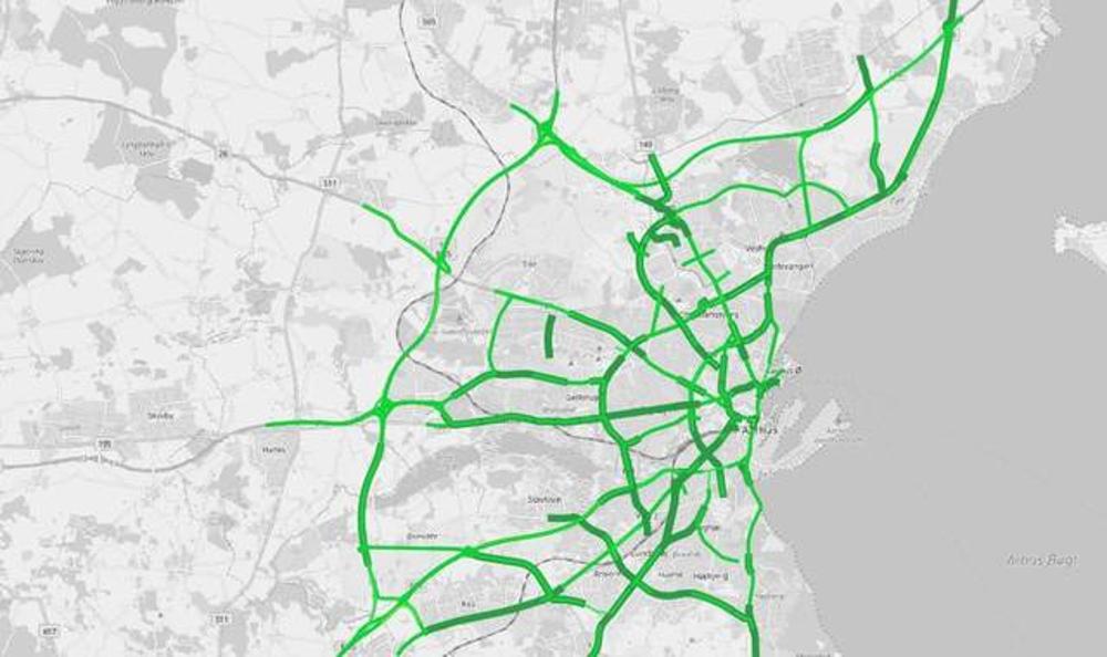 Isolationstid: Se byen gennem dens data
