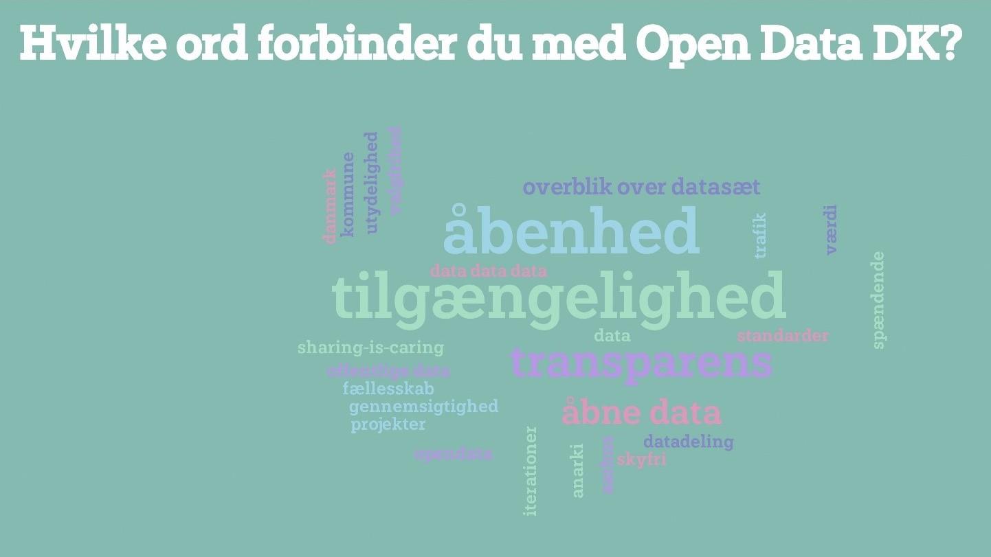 Open Data DK Generalforsamling '20: Virtuelt møde om fremtiden